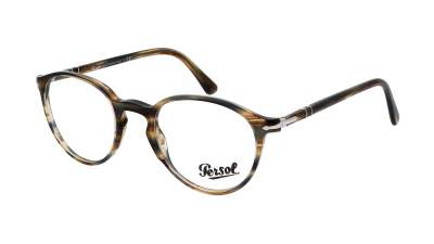 Persol PO3218V 1049 51-21 Striped Brown Grey 92,90 €