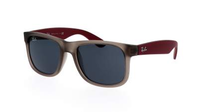 Ray-Ban Justin Rubber transparent grey RB4165 6509/87 51-16