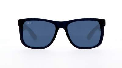 Ray-Ban Justin Rubber transparent blue RB4165 6511/80 51-16